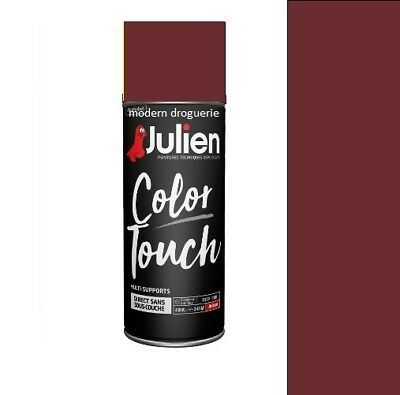 Aerosol Bombe Peinture Rouge Basque Ral 3004 Brillant Julien Color Touch