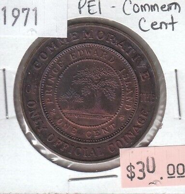 Prince Edward Island - 1971 - Commemorative 1 Cent