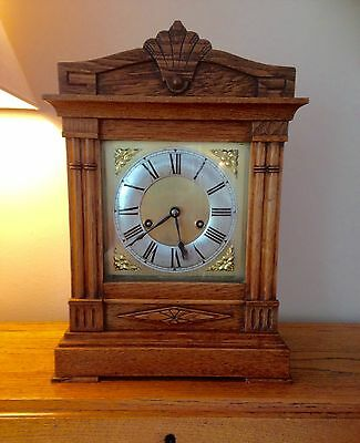 Antique mantel clock by HAC fully serviced