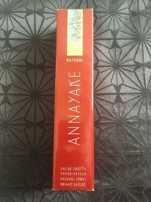Natsumi ANNAYAKE Eau de Toilette EDT Spray 100ml für Damen NEU + noch in Folie