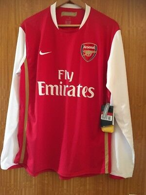 Arsenal Football Shirt Size Large New With Tags