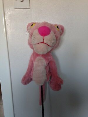 Golf Driver Head Cover Pink Panther