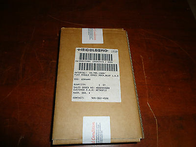 Heidelberg Press, Epm21  Pdcm-Blup 1.0.0 Flat Module. Part#00.785.1368,  Sealed