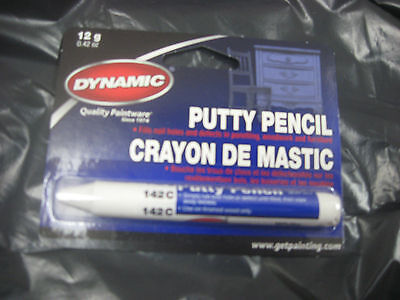 Dynamic PUTTY PENCIL WHITE FILL 142C PA10142C painting supplies filler repairs