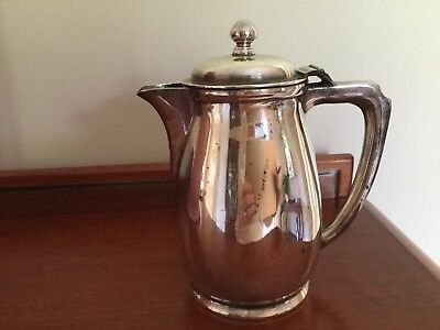 Mappin & Webb Jug With Hinged Lid