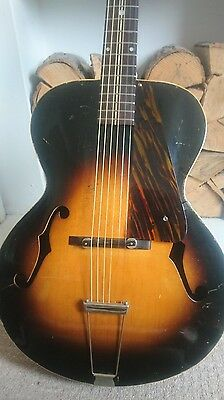 1930s Gibson made Cromwell acoustic archtop guitar