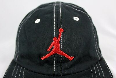 9e97ef61fbe ... sale air jordan jumpman hat cap black haddad youth child size 8 20  basketball cotton 8cbdf
