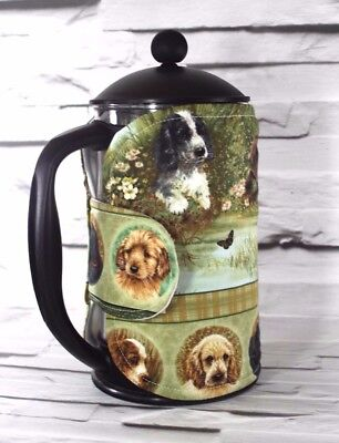 Dogs Cafetiere Cosy Puppy French Press Coffee Cozy