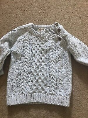 Next Cream Boys 9-12m Jumper