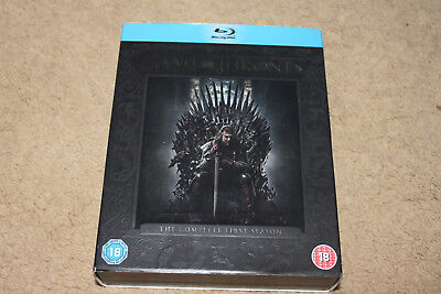 Game Of Thrones Complete Season One Series 1 Blu Ray