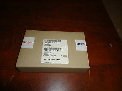 Heidelberg Press, Module Sccb102. Part#00.785.0481/01,  Sealed