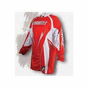Oneal Motocross Jersey Mens Womens Off Road Sports Top Red And White Honda S- Xl