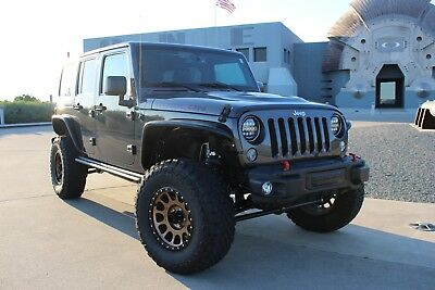 2016 Jeep Wrangler Rubicon Hard Rock Lifted 2016 Jeep Wrangler Unlimited Rubicon Hard Rock