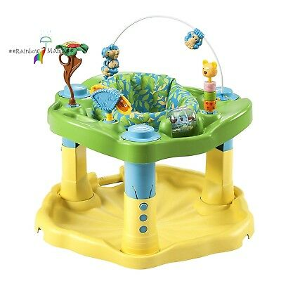 Evenflo Exersaucer Bounce & Learn, Zoo Friends New