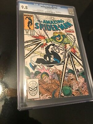 Amazing Spiderman 299 9.8 CGC McFarlane Venom Auction