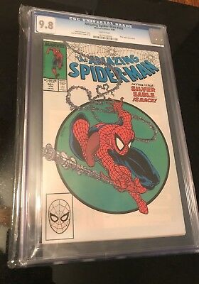 Amazing Spiderman 301 9.8 CGC McFarlane Venom Auction