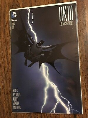 Batman Dark Knight 3 Dk Iii The Master Race 1 Jae Lee Dynamic Forces Df Variant