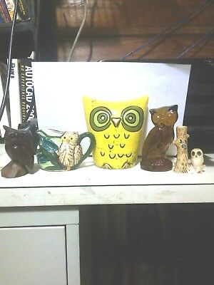 Vintage Fitz & Floyd Owl Bank And More