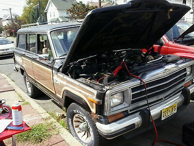 1984 Jeep Wagoneer ltd 1984 JEEP GRAND WAGONEER , with a 1987 donor jeep (project jeep)