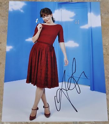 "Anna Friel Signed 10.5"" x 8"" Colour Photo Pushing Daisies"