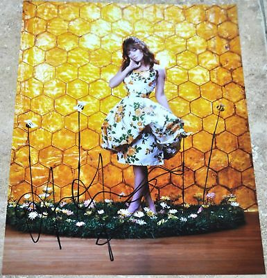 "Anna Friel Signed 10.5"" x 8"" Colour Photo Pushing Daisies #2"