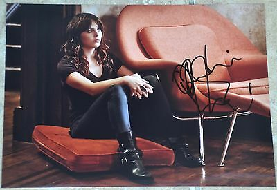 "Ophelia Lovibond Signed 11""x 8"" Colour Photo Elementary"