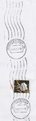 Stempel BRIEFZENTRUM 70 dd 13.12.43 !! aus 240 Cent Blume