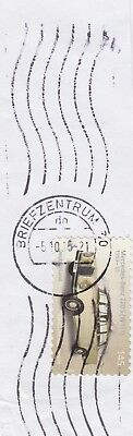 Wellen-Stempel BRIEFZENTRUM 30 db - auf 145 Cent Mercedes-Benz 220 S