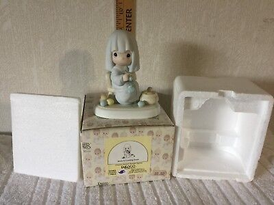 "Precious Moments ""Jesus Is Coming Soon""  #12343  w/BOX  (PM048)"