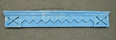 Antique Wood Door Pediment Victorian Design Architectural Salvage Shelf