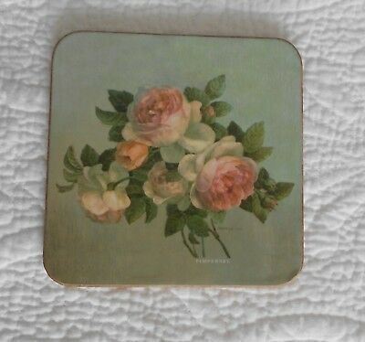 *****pimpernel Vintage **new In Box** Antique Roses Coasters Set Of 6 - Lovely**