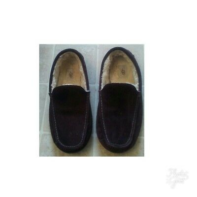 Men's Ugg Ascot Slippers Coco Brown Sn 5395 Suede/sheepskin Size 11