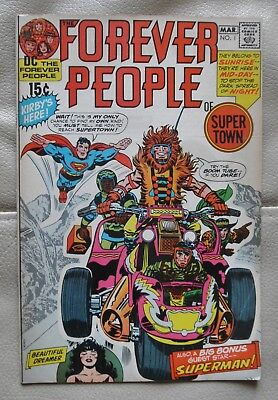 The Forever People # 1 DC 1971 Fine