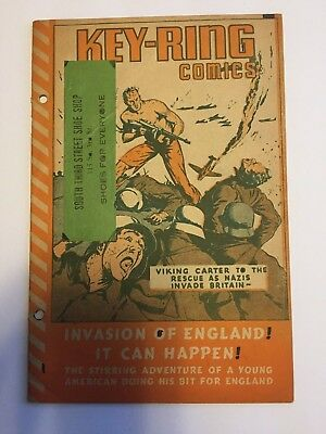 Key Ring Comics - Invasion of England! 1941 dell