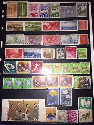 FANTASTIC! Collection/Lot #1-Vintage Early-Mid 1900's JAPAN Stamps-All MINT! $$$