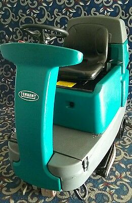 "Quantity of 6 Tennant T7 32"" ride on floor scrubbers with FREE shipping!"