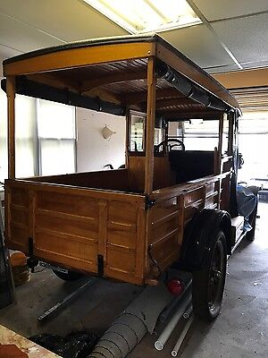 1925 Ford Model T Wood Model T 1925 Depot Hack