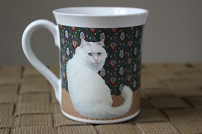 Hallmark 1987 Persian Cat with Blue Yellow Eyes Coffee Mug