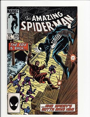 Amazing Spider-Man Vol 1 #265 1st Silver Sable First Printing Marvel Comics