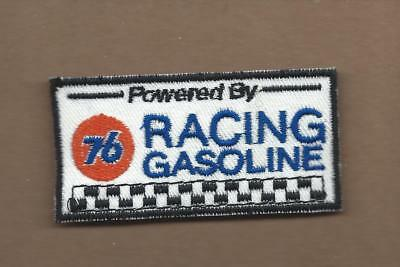 New 1 5/8 X 3 Inch 76 Racing Gasoline Iron On Patch Free Shipping