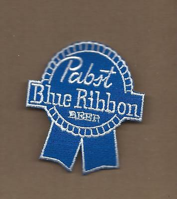 MILLER BREWERY PATCH LITE BEER Blue Background 1 3 4 X 2 1 2 NEW