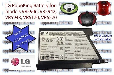 LG Robot Vacuum Battery Part EAC62218202 Models VR5902, VR5906, VR6170, VR6270
