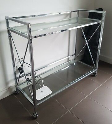 Glass Top Trolley