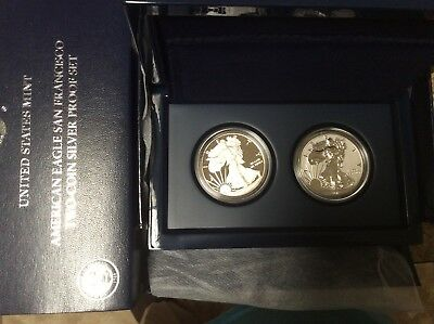 2012-S American Eagle San Fran Two Coin Proof Set