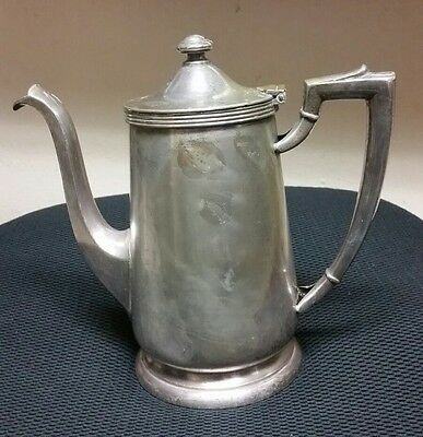 Vintage The New Yorker International Silver Co. Tea Coffee Pot  RARE COLLECTIBLE