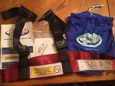 Kids Fly Safe CARES Airplane Child Safety Harness -Used on 1 trip