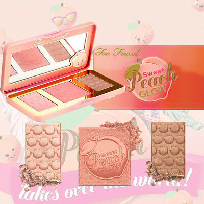 Too Faced Nuevo Sweet Melocotón Paleta Dulce Melocotón Glow & Colorete
