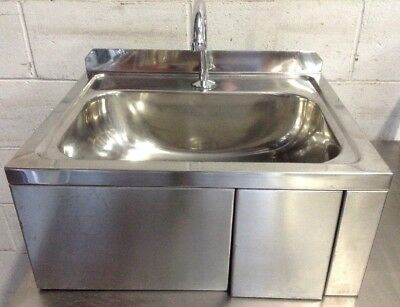 Commercial Kitchen Restaurant Cafe Automatic Hands Free Hand Wash Basin sink