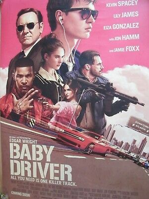 Baby Driver - one sheet movie poster