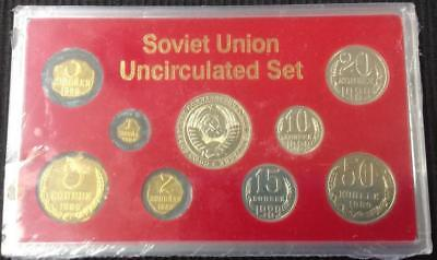 1989 Russia Soviet Union Last Coins of the Soviet Union Coin Set